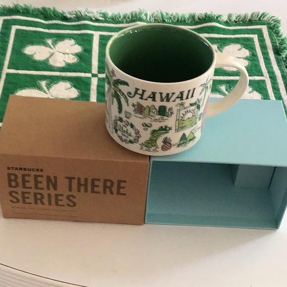 Starbucks Been There 14oz Hawaii mug.